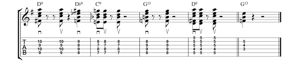 Blues Rhythm 6 - 13th Chords - Anyone Can Play Guitar