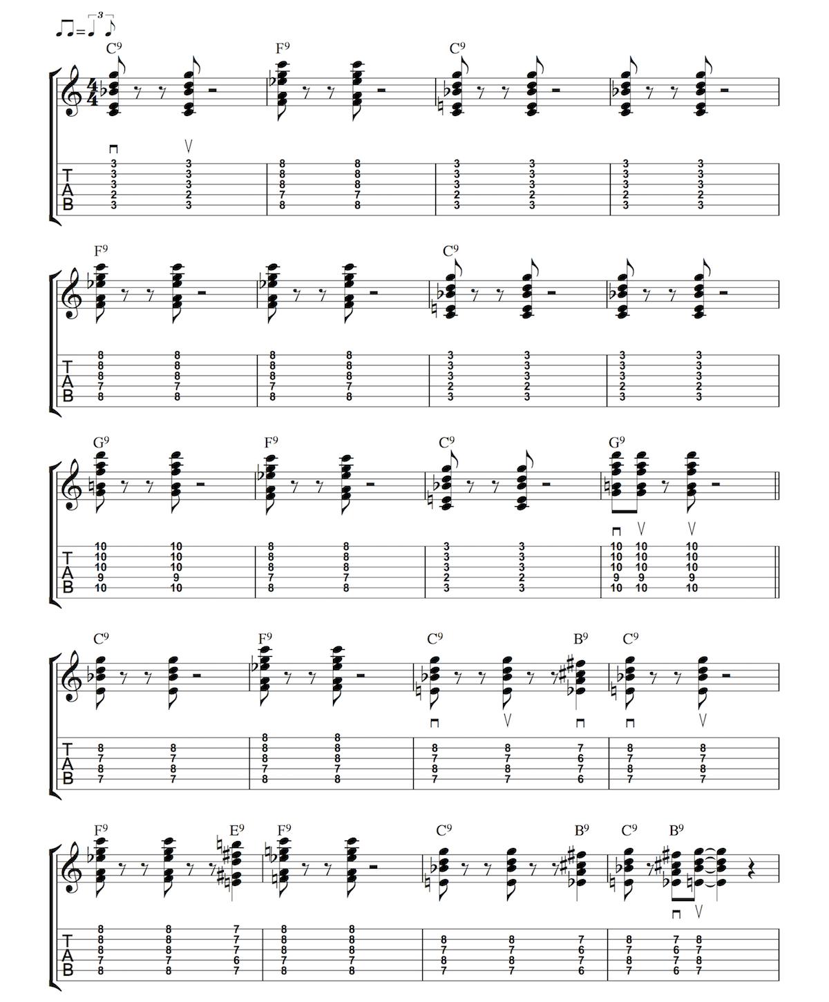 Blues Rhythm 4 9th Chords Anyone Can Play Guitar